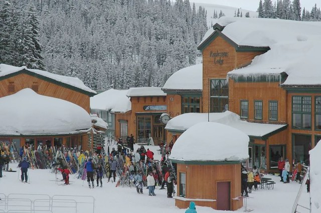 Grand Targhee village