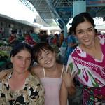 Friendly Women at the Krytyy Market - Bukhara, Uzbekistan