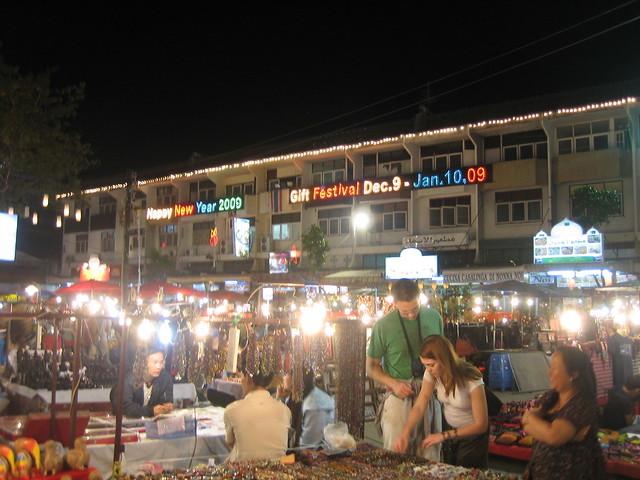 Anusarn Market: Stalls