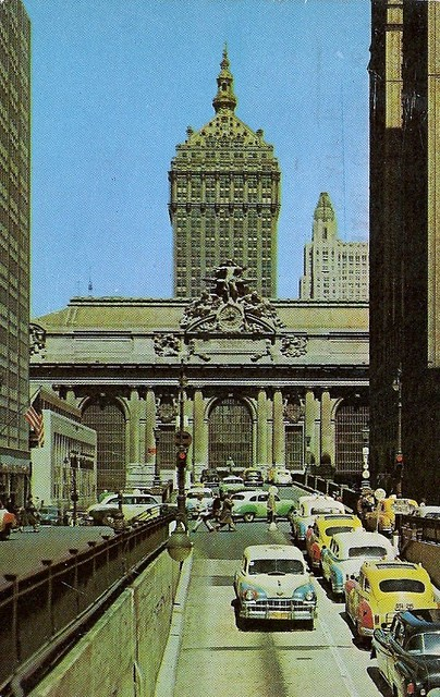 NY Grand Central Station (posted 1957)