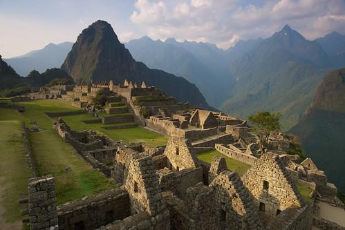 peru machu picchu inca america ruins south inka aguas calientes