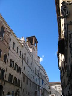Image of Palazzo dei Priori. umbria umbriajazz