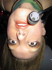 nose, face, skin, lip, girl, head, hair, woman, ear, female, lady, close-up, blond, mouth, eyebrow, person, beauty, eye, organ,