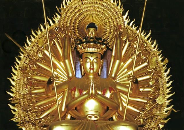 A Golden Bodhisattva In China