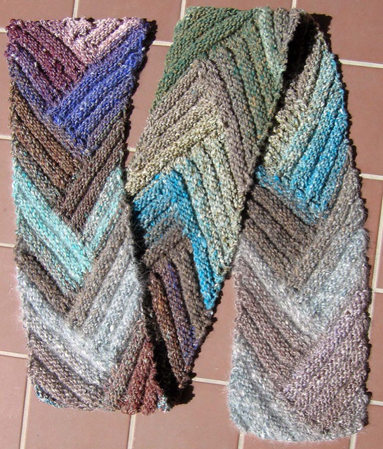 Free Knitting Pattern For Short Row Scarf : Short Row Rib Scarf Flickr - Photo Sharing!
