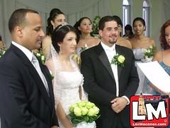 Boda de Francisco Hilario y Evalina Gómez