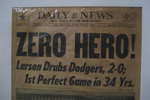 NYC - UES - MCNY: The Glory Days - NY Daily News - October 9, 1956