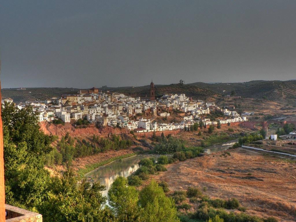 """""""Vista de Montoro, uno de los más escénicos pueblos de Córdoba"""