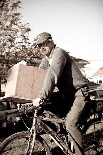 Patrimonio cultural en bici: El cartero (Postman)