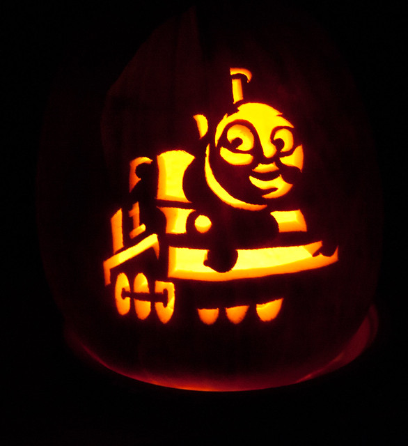 5116866350 d1f1c2681a for Thomas pumpkin template