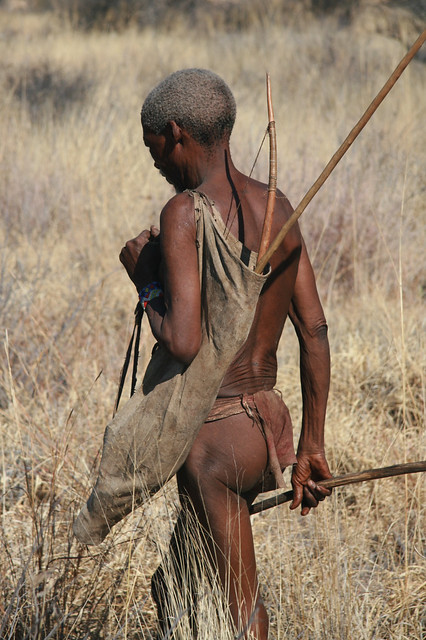 an examination of the kung bushman tribe The average bushman went out hunting with his buddies three times a week,  the kung san: men, women and work  what did the bushmen actually eat.