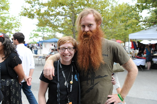 Me and Brian Redbeard at Maker Faire