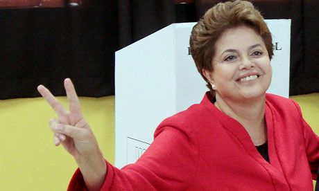 Brazil Worker's Party President Dilma Rousseff won the national run-off elections in the South American state whose economic and political influence is growing throughout the region and the world. by Pan-African News Wire File Photos
