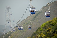 Enjoy a stunning and very impressive cable car ride at Ngong Ping 360 - Things to do in Hong Kong