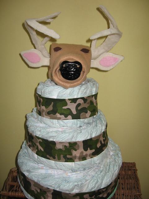 Deer Diapwr Cake
