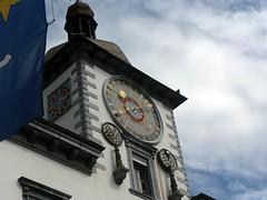 Sion, Switzerland clocktower