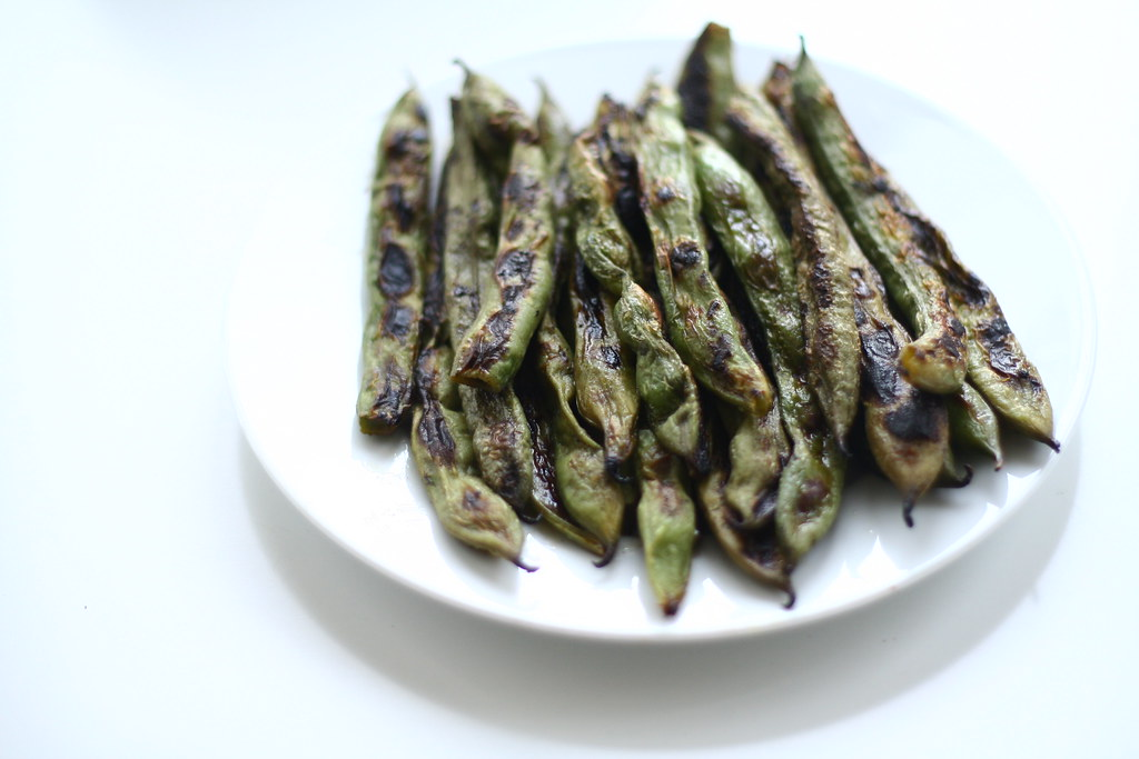 Pan-fried Fava Beans