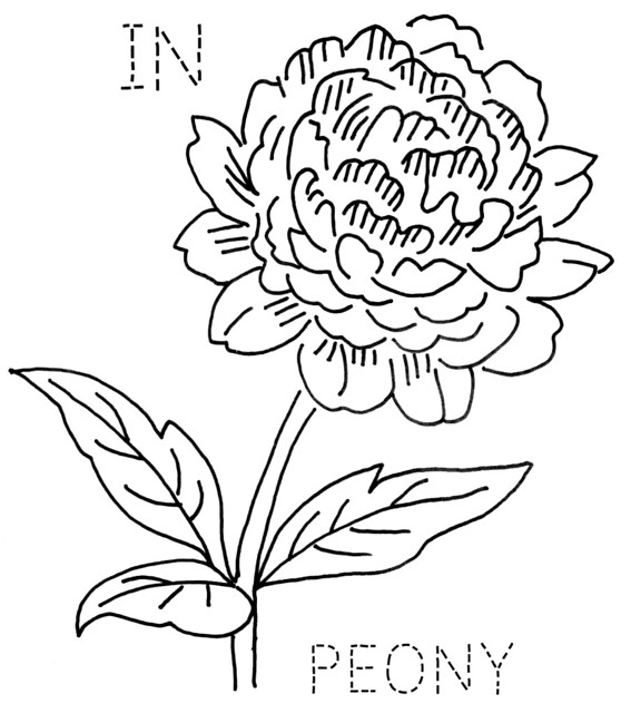 Image Result For Simple Flowers Coloring