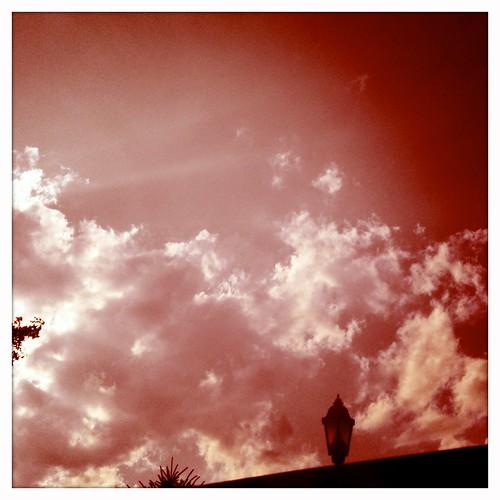 red sky camerphone 365 iphone blanko hipstamatic kaimalmarkii viewfrommysunroof