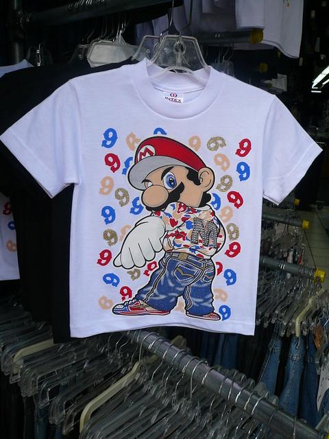 mario gangsta shirt  santee alley  los angeles  ca jpg