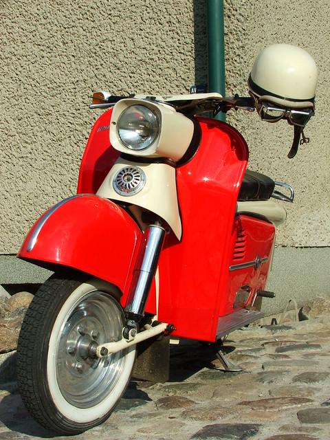 Vintage Motor Scooter 20