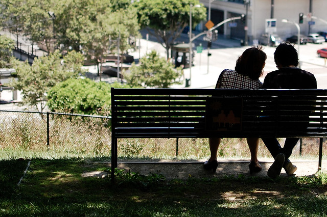 500 days of summer park bench