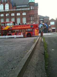 City SightSeeing buses helped people get around NewcastleGateshead