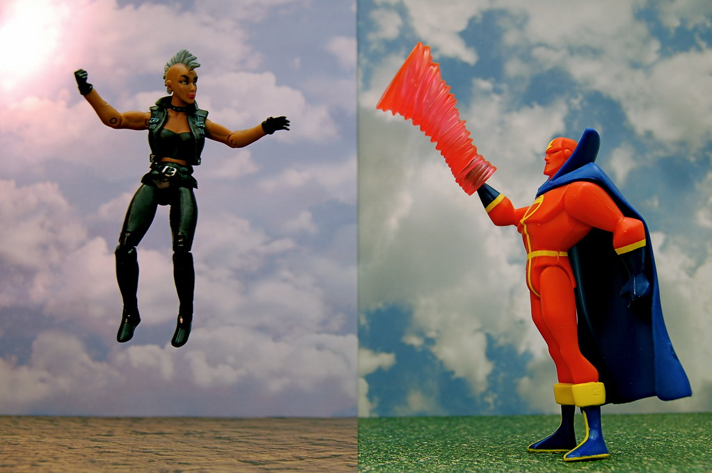 Storm vs. Red Tornado (319/365)