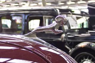 1938 Dodge D8 sedan hood ornament