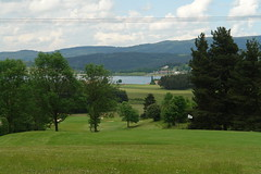 The golf course near Langogne