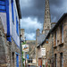 Small street of Treguier HDR by David Giral | davidgiralphoto.com