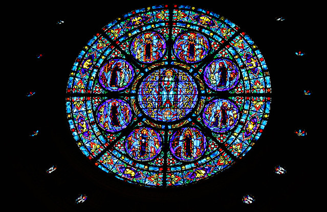American Jesuit Martyrs Rose Window Flickr Photo Sharing