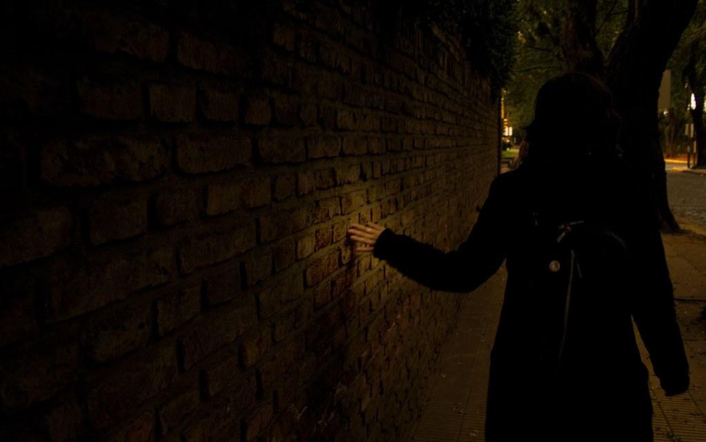 Algo me incita a tocar tus límites pues nunca un muro me pareció imposible.