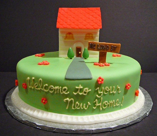 Cake Images Real : Housewarming Cake Flickr - Photo Sharing!