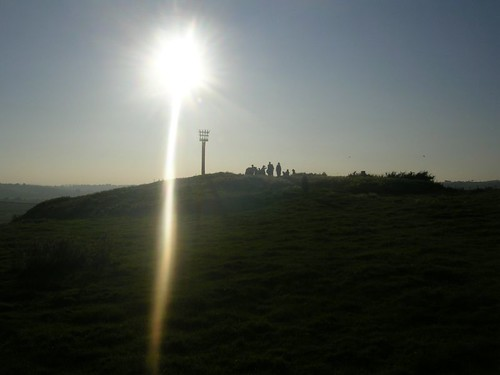 Walkers at Winchelsea beacon