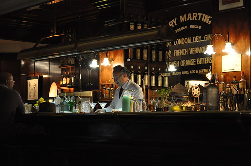El bar Dry Martini