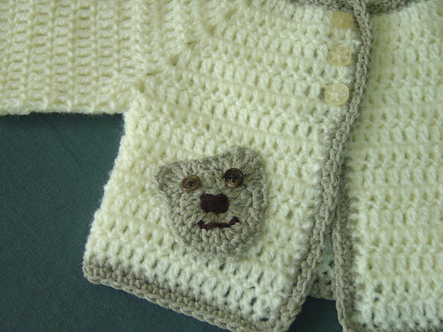 TEDDY BEAR CROCHETED SWEATER PATTERN - Crochet — Learn How to