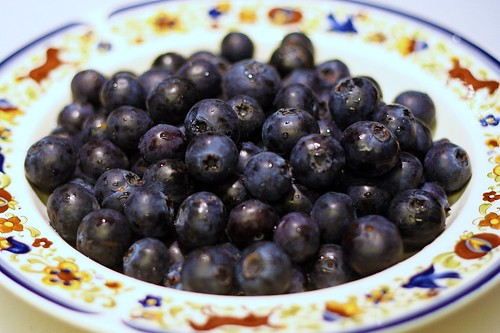 Blueberries are our friends