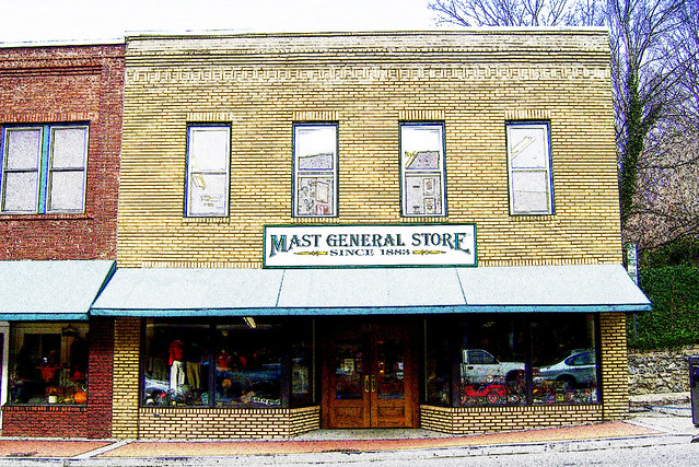 Today, the Mast General Store both embodies and embraces a way of doing business that is becoming more difficult to find in our fast-paced world. We strive to continue the great tradition of not only providing most everything anybody would need, but doing it with the same gracious and helpful customer service that W. W. made famous.