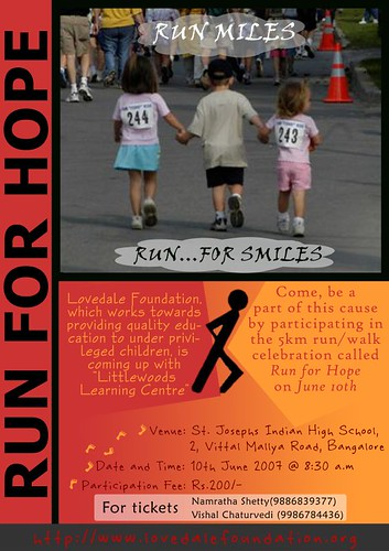 RUNNING FOR HOPE