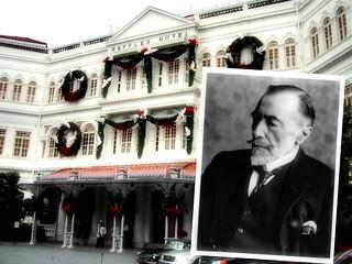 Raffles hotel and Joseph Conrad, Singapore