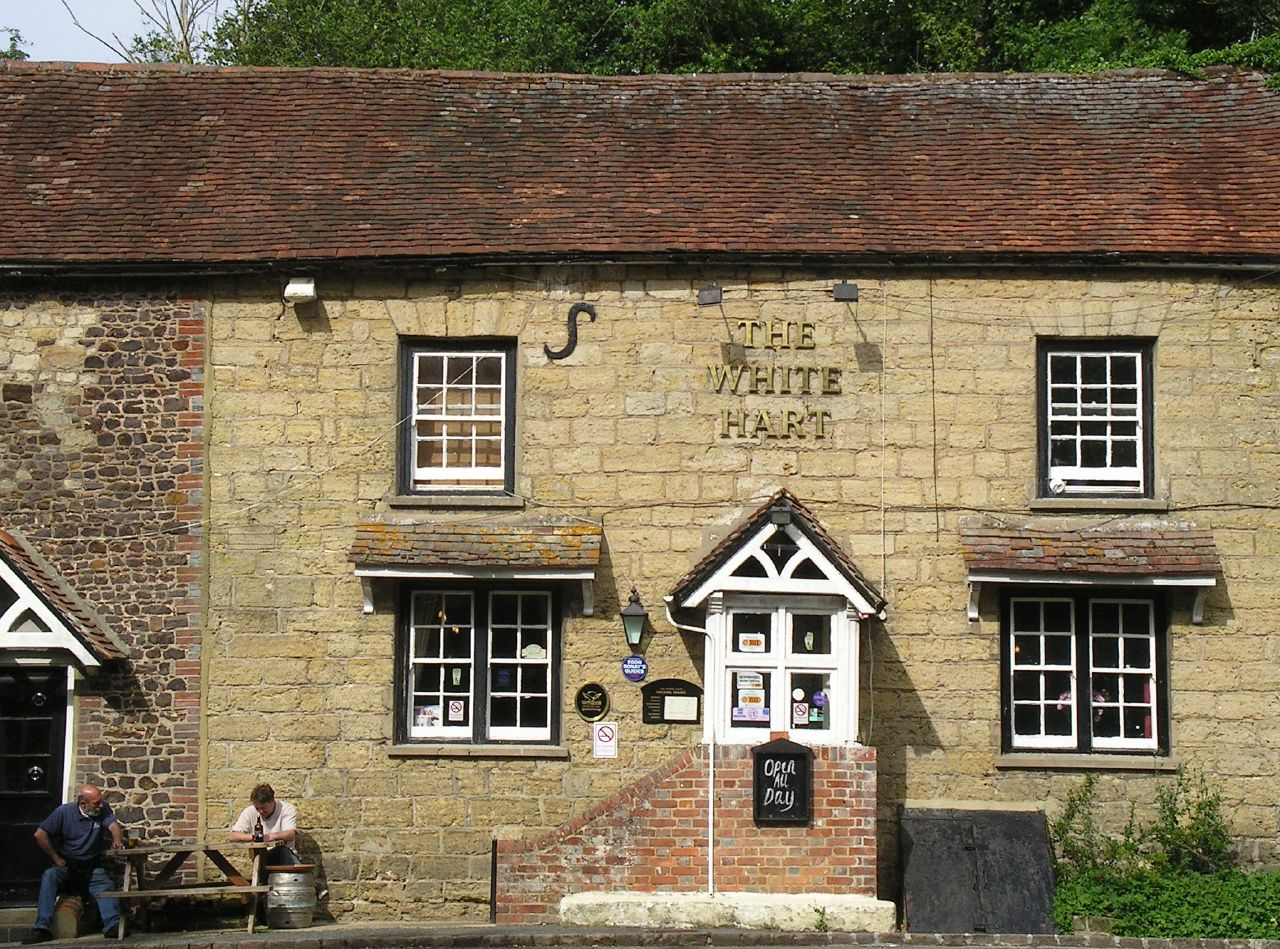 """Book 3, Walk 39, Amberley to Pulborough """"It doesn't mean you have to drink all day."""", 14 July '07"""