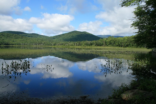 lake reflection water landscape pond ellsworth rebelxti ellsworthpond ellsworthnh