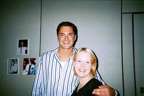 Andy Hallett and I!