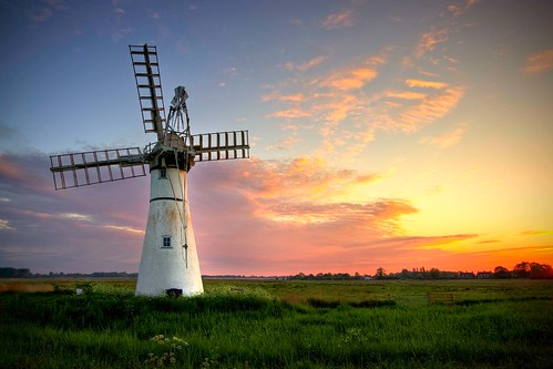 THURNE MILL SUNRISE