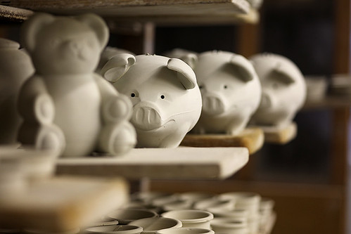 Grayshott Pottery, piggy banks
