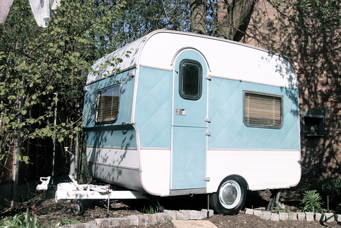 VINTAGE FISHER HOLIVAN CARAVAN