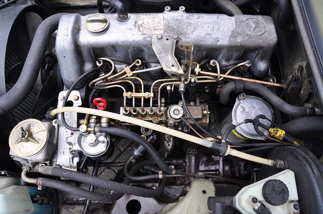 Mercedes benz om617 diesel engine flickr photo sharing for Mercedes benz om617