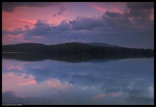 sunset reflection newhampshire nikond50 mountmonadnock justinsmith dublinlake nikon1735mmf28