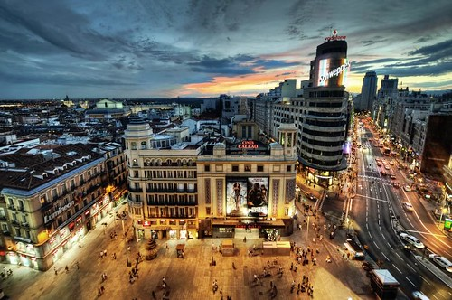 Madrid from life of Ernest Hemingway